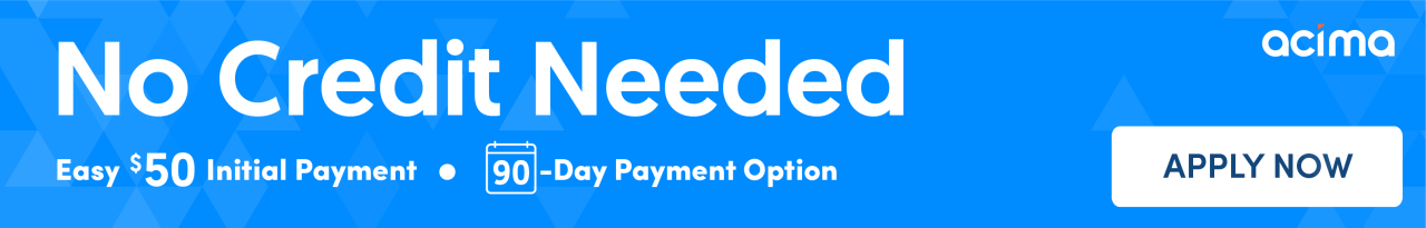 Apply for Credit banner